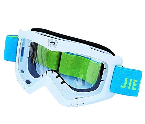 Coniea Schutzbrille Sonnenbrille PC Outdoor Brille Damen Sport Sonnenbrillen Weiß
