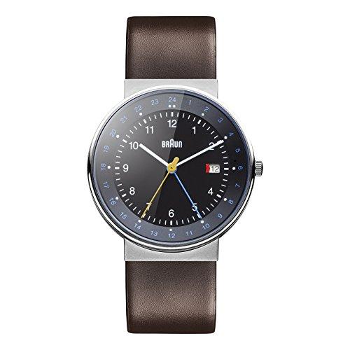 Braun Men's GMT Watch BN0142BKBRG