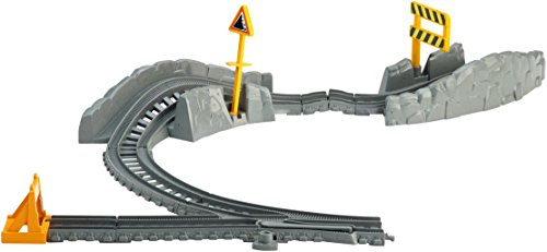 Fisher Price - Thomas and Friends - Hazard Tracks Expansion Pack (Cdb66) (Train Expansion Thomas Track)