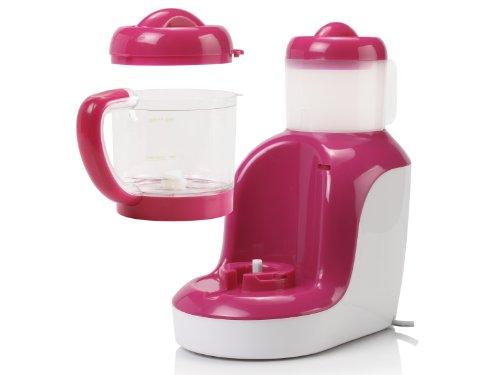 Topcom KF-4310 Babynahrungszubereiter – Blend und Cook, rot/weiß - 3