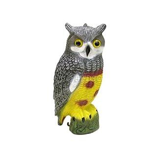 Ashley Housewares Owl Birds of Pray Bird Deterrent BD101