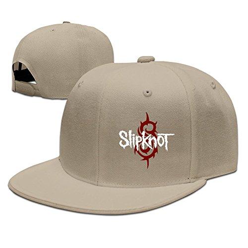 XCarmen Slipknot Rock And Roll Rock Music New Fashion Snapback Hats Natural
