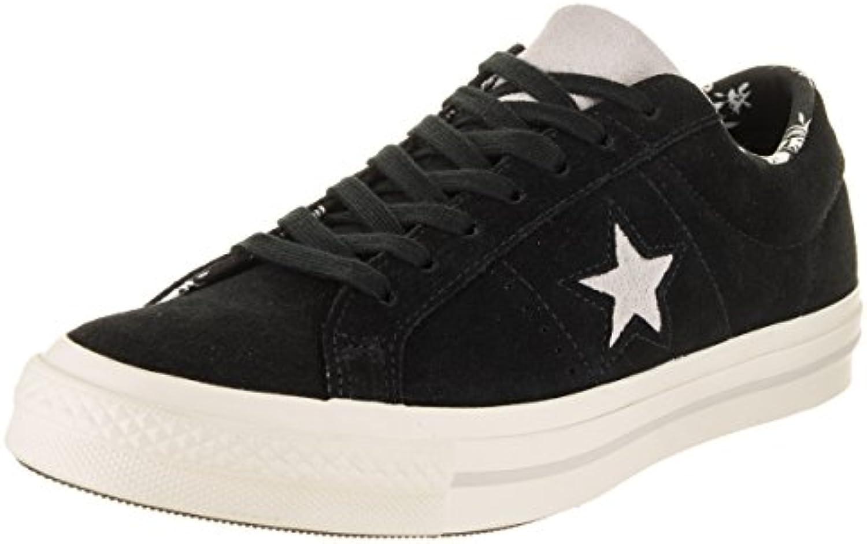 converse Hommes 039; s de de chaussures, de s couleur noire, chaussures de marque, modèle Hommes 039 boeuf noir une star; fcb9db
