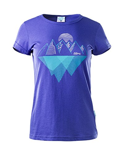 Elbrus Femme agulita où s T-shirt Amparo Blue