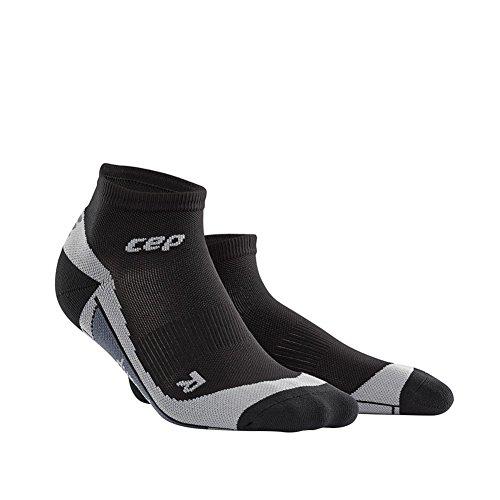 CEP Herren Low Cut Men Socken, Schwarz, Gr. 43-46 (Herstellergröße:IV) (Low-cut-sport-socken Schwarze)