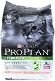 PRO PLAN Sterilised - Riche en Saumon - 3 KG - Croquettes pour chat adulte