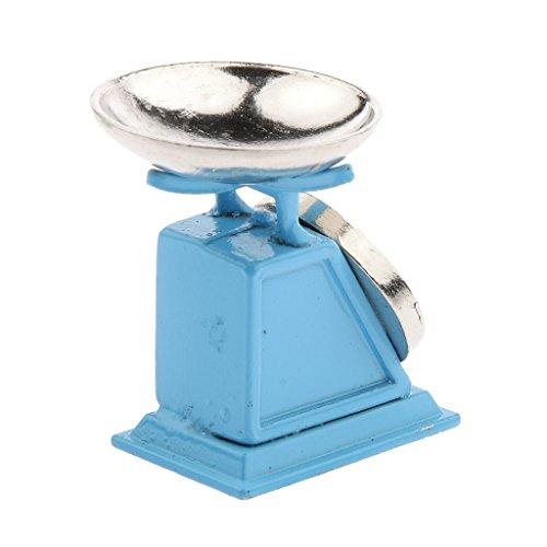 Piattaforma Di Bambole Casa In Miniatura Scala 1:12 Scala Blu