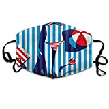 Desing shop Beach Swimsuit Beauty Motorcycle Face Masks Unisex All Members Mask Mask