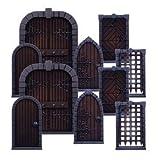 Dungeon Saga Dungeon Doors Pack 10 Hard Plastic Doors 10 Porte Originale