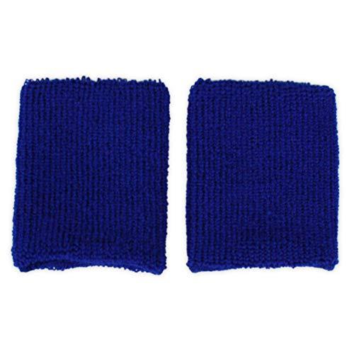 WIDMANN 1 Paar Unisex Schweißbänder Absorbierende Schweissband für Tennis Squash Badminton Turnhalle - Retro Basketball Kostüm