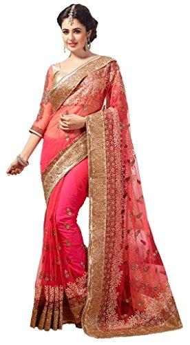 M.S. Retail Net Saree (Ac-Panchgini_1_Pink)
