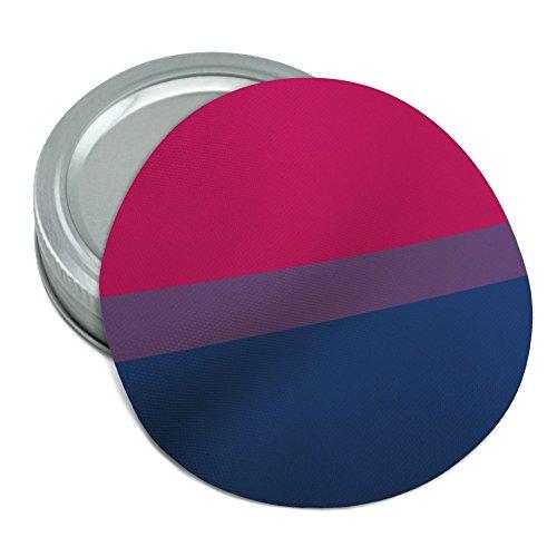 Bi bisexualität Pride Flagge pink violett blau rutschfeste rund Gummi Greifer Deckel Glasöffner
