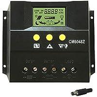 Momola 40//50//60//100A MPPT regolatore di carica pannello solare 12V//24V Auto Focus Tracking 40A