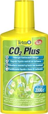 Tetra CO2 Plus (flüssiger Kohlenstoff-Dünger für prächtige Aquarienpflanzen, reichert Aquariumwassers mit Kohlendioxid für prächtige und gesunde Wasserpflanzen an), 250 ml Flasche von Tetra