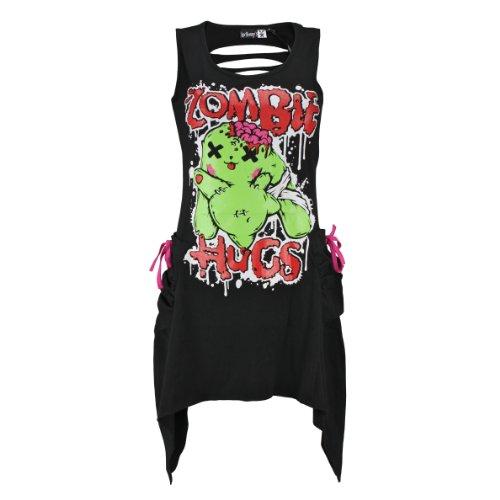 luv-bunnys-kleid-zombie-hugs-dress-black-s