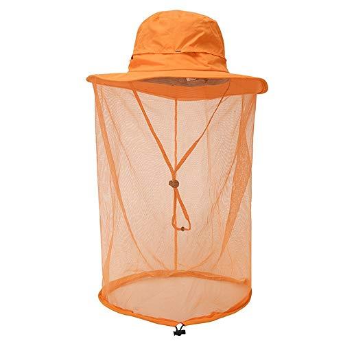 netz Dschungel Gesichtsmaske Anti-Moskito Schnelltrocknende Kappe Sportkappe Angeln Hut Wandern Hut Weiblich/Männlich ()