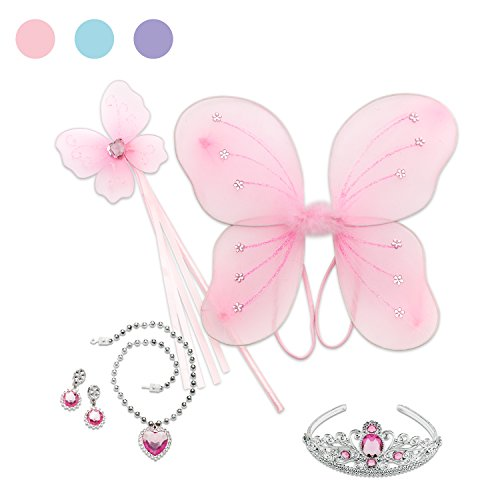 magtoys 23601000Princess Geschenk-Set (6-teilig) (Angel Dress Up Für Kinder)