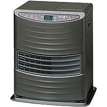KEROSUN LC 3000 Stufa a Combustibile Elettronica, portatile, 3000 W, grigio, da 19m2-48m2, senza installazione, termostato regolazione giornaliera (Ricondizionato Certificato)