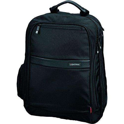 Lightpak 46103 - Laptop Rucksack Executive Line ECHO 1 aus Nylon, schwarz -