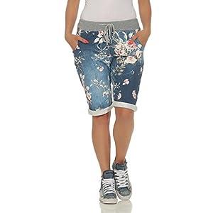 cleostyle Kurze Damen Bermuda, leichte luftige Hose für den Sommer, kurzer Jogger für Freizeit und Strand 9