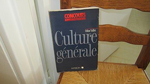 Culture générale (Collection Concours administratifs)
