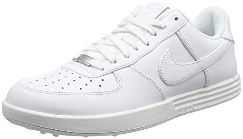 Nike Herren Lunar Force 1 G Golfschuhe Weiß (White) 46 EU