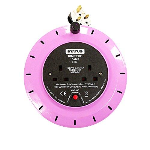status-s2w10m10ap2572c4-aa-10m-10a-2-sockets-carrete-de-cable-con-termica-escultura-violeta-africana