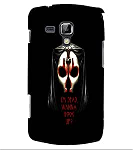 PrintDhaba Quote D-3766 Back Case Cover for SAMSUNG GALAXY S DUOS 2 S7582 (Multi-Coloured)