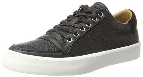 Hummel Unisex-Erwachsene Stadil RMX Lux Low Sneaker, Schwarz (Black), 41 - Luxus-sneakers