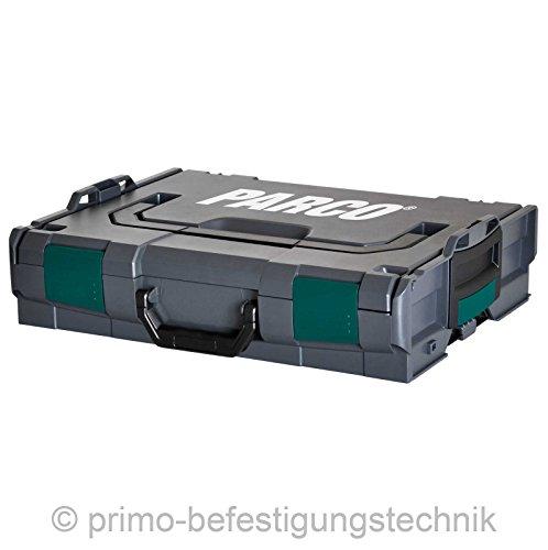 PARCO®Click Werkzeugkoffer L-Box Größe 1 stapelbar anthrazit