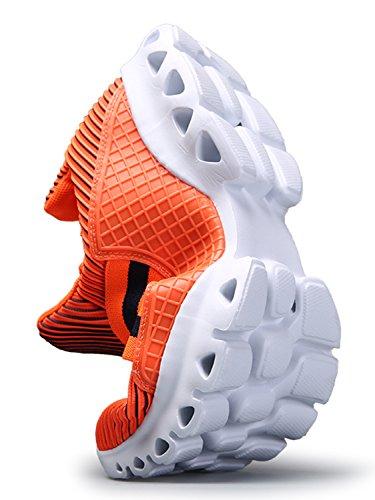 IIIIS-R Uomo Donna Scarpe Da Sportive Running Basket Sneakers Estive Nero Rosso Blu Verde Rosa arancione