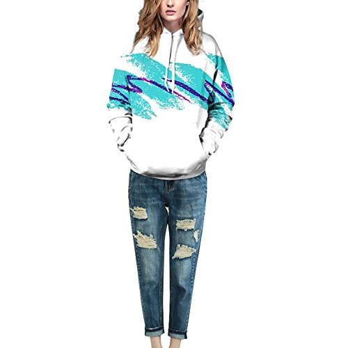 JOMNM Unisex Sweatshirt Hoodies 3D Druck Kapuzenpullover Mit Kapuze Sweatjacke Color 14