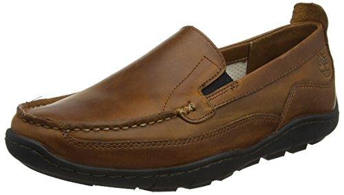 Timberland Herren Sandspoint Sensorflex Venetian Slip On Sneaker, Braun (Tan Old Harness 919), 41,5 EU (Herren Timberland Schuhe Tan)