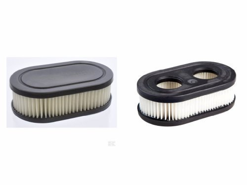 mon château filtres à air pour Briggs&Stratton de L' Modèle 550E + 550EX + 575EX, Longueur 110,Largeur 67+Hauteur 35mm