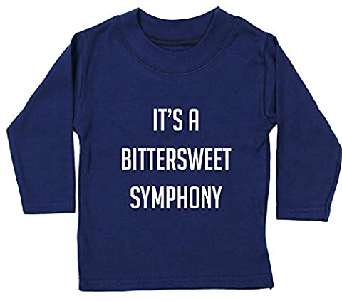 Hippowarehouse It's a bittersweet symphony baby unisex t-shirt long sleeve