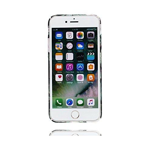 iPhone 6s Custodia, Copertura iPhone 6 4.7, | Peso leggero ultra sottile Silicone Gel Soft Gel | Cartoon Fashion iPhone 6S Case - Multiflora Rose, Antigraffio e ring supporto Color 7