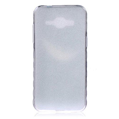 Voguecase® Pour Apple iphone 4 4G 4S, Ultra-minces TPU Silicone Shell Housse Coque Étui Case Cover (arrière)+ Gratuit stylet l'écran aléatoire universelle rose blanche