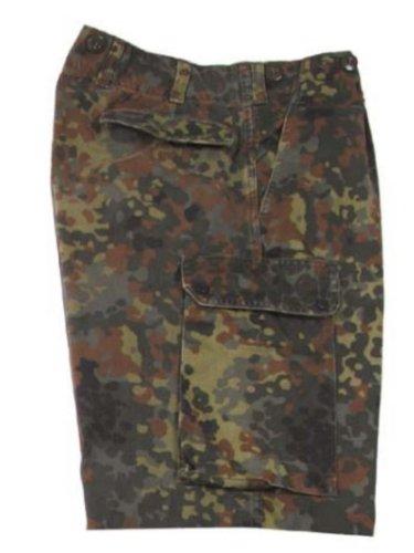Bundeswehr Bermuda flecktarn gebraucht Größe 7 (Bermuda 7)