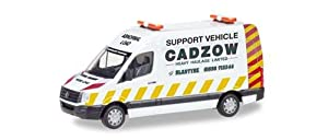 Herpa VW Crafter Kasten HD Cadzow, 093897, Coloré