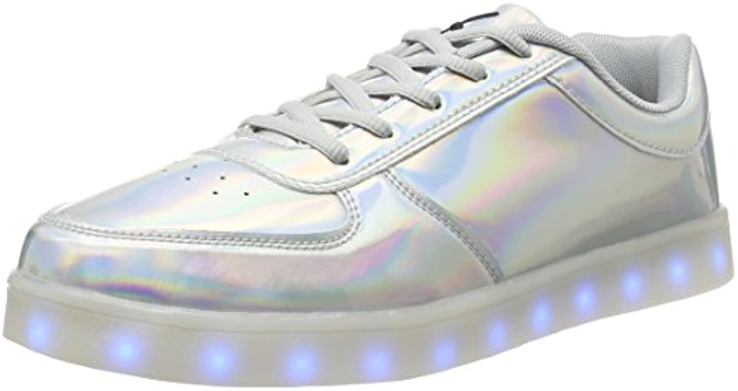 wize  ope Unisex Erwachsene LED Pop Low Top