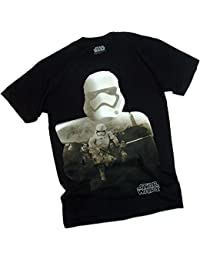 Star Wars Ep VII: The Force Awakens -- Trooper-Filled Silhouette Adult T-Shirt