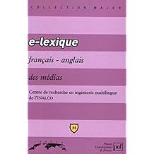 E - Lexique français/anglais des médias