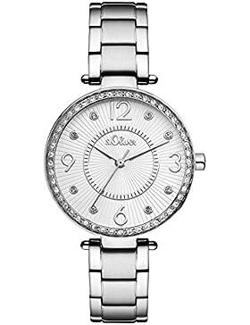s.Oliver Time Damen-Armbanduhr SO-3307-MQ