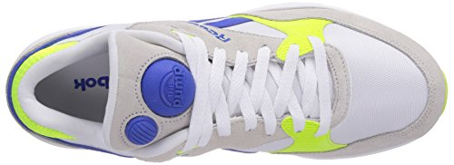 Reebok Pump Infinity Runner, Running Entrainement Homme Multicolore (solar Yellow/vital Blue/white)