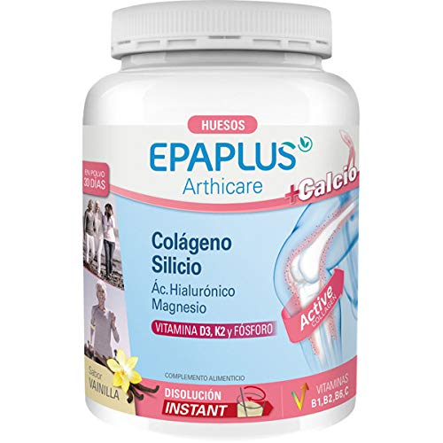 EPAPLUS COLAGENO + SILICIO + HIALURONICO + MAGNESIO SABOR VAINILLA
