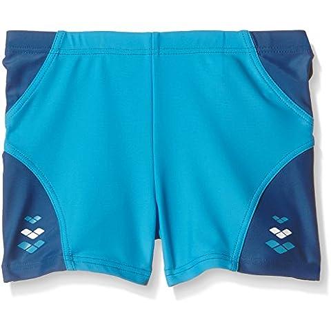 Arena Boys 'trunks Play Bermuda, Niños, Badehose Play, blue - Deep-Sea/Turquoise, 13 años
