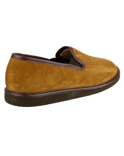 Mirak Barton Wildleder Pantoffel Unisex Hausschuhe Männer überstreifen Schuhe Tan