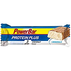 Power Bar Protein Plus con MINERALES 1 barrita x 35 gr - Sabor - Coco