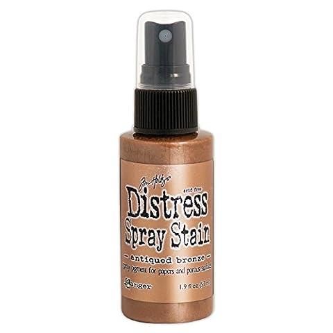 Distress Spray Stain 1.9oz-Antiqued Bronze