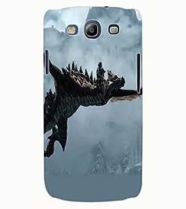 ColourCraft Dragon Design Back Case Cover for SAMSUNG GALAXY S3 NEO I9300I